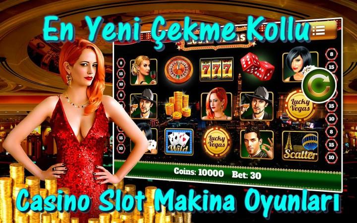 En Yeni Çekme Kollu Casino Slot Makina Oyunları