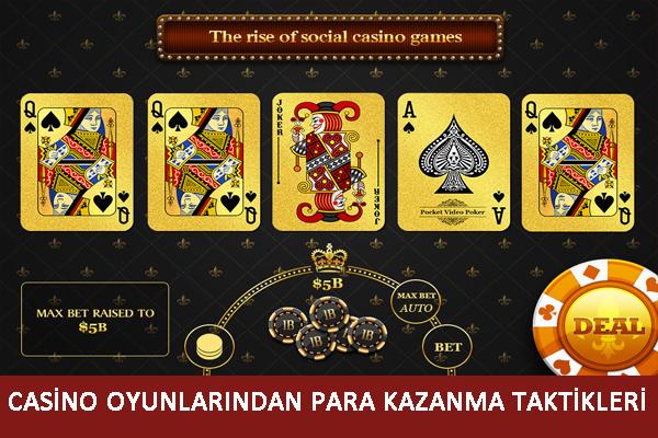 konu casino oyunu taktikleri, Casino oyunlarından para kazanma, Casino oyunu tüyoları